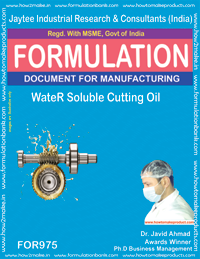 Water Soluble Cutting Oil (For975)