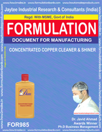 CONCENTRATED COPPER CLEANER &SHINER (For985)