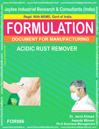 ACIDIC RUST REMOVER (For986)