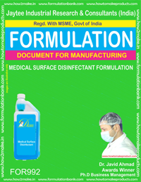 Medical Surface Disinfectant Formulation (For992)