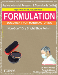 Non-Scuff Dry Bright Shoe Polish (For998)