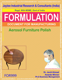 Aerosol Furniture Polish type 2 (For999)